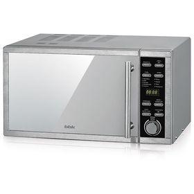 Микроволновая печь BBK 25MWC-990T/S-M, 25 л, 900 Вт, серебристый