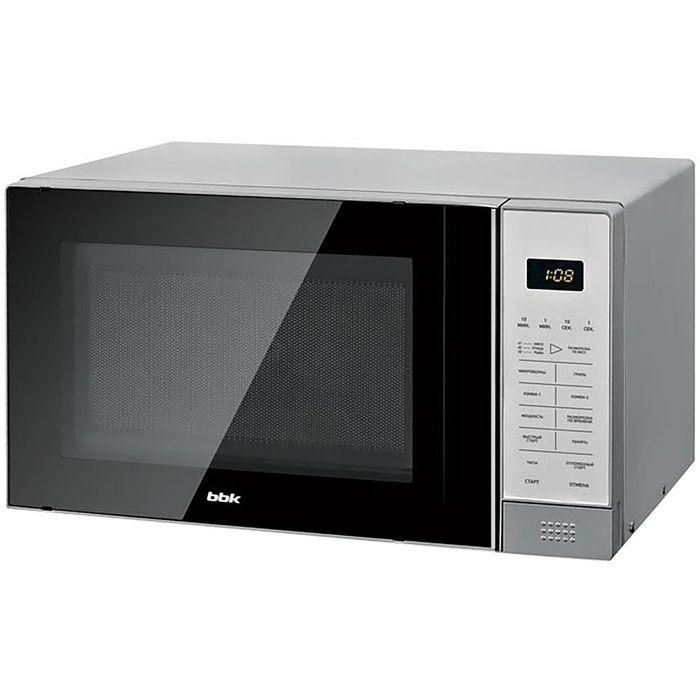 Микроволновая печь BBK 20MWG-736S/BS, 20 л, 700 Вт, серебристый/черный
