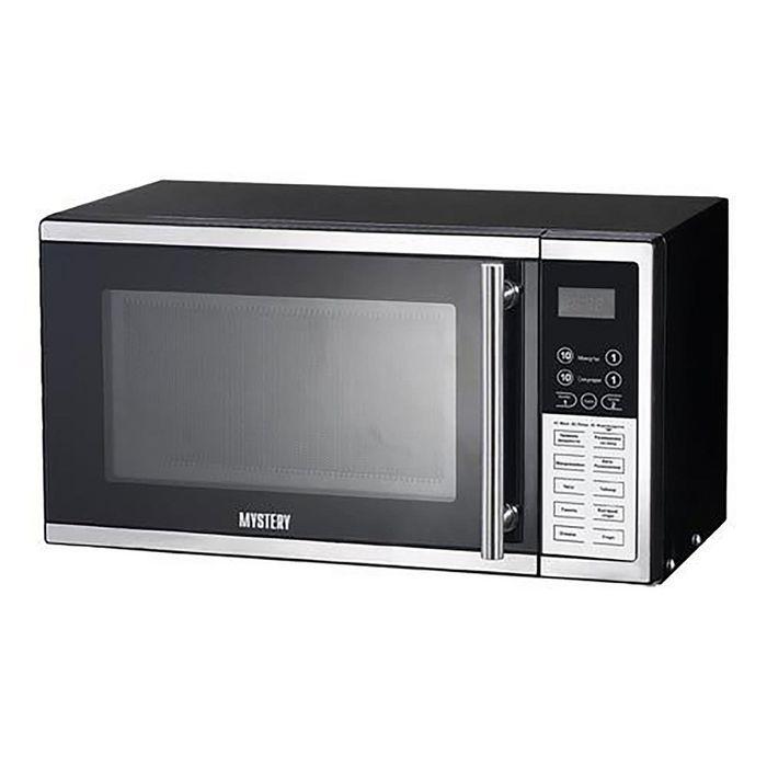 Микроволновая печь Mystery MMW-2008G, 20 л, 800 Вт, черный