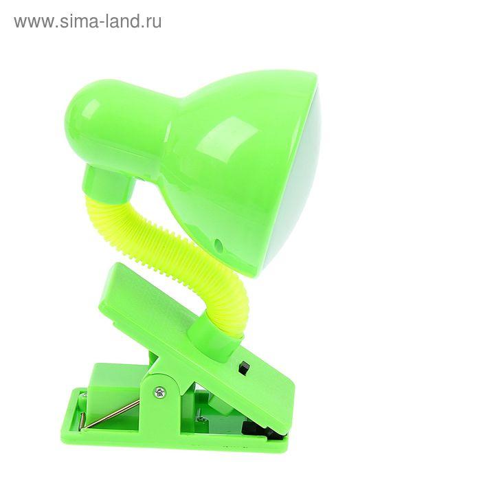 Светильник на прищепке с LED-лампами салатовый