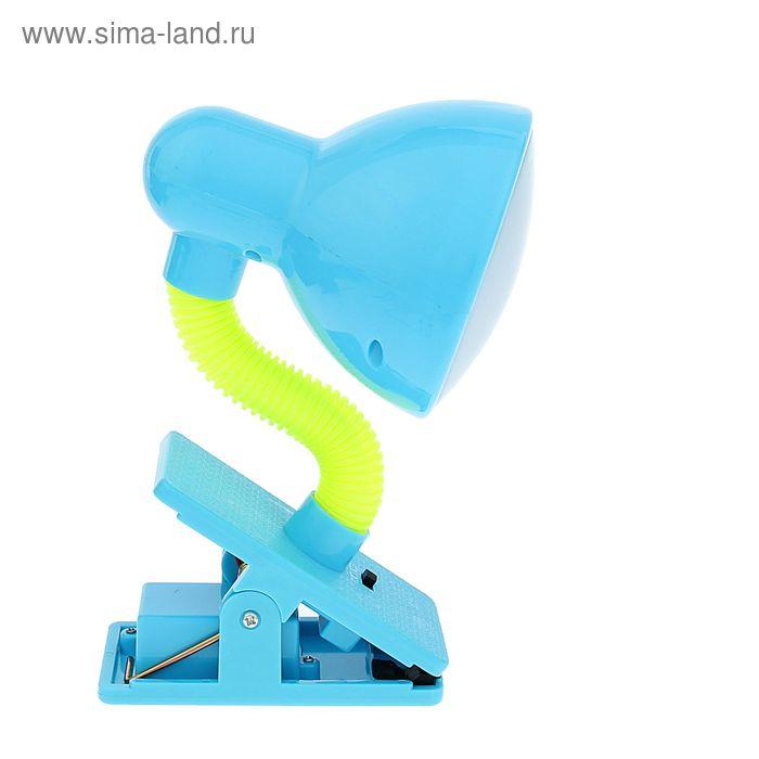 Светильник на прищепке с LED-лампами синий
