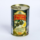 """Оливки с лимоном ТМ """"Maestro de Oliva"""", 300 г"""