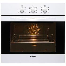 Духовой шкаф Hansa BOEW68102, электрический, 65 л, чёрно-белый
