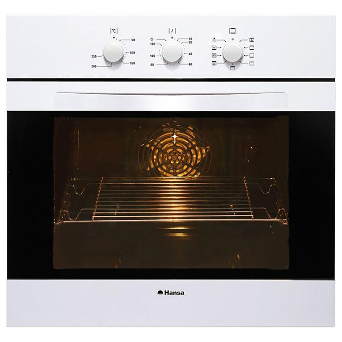 Духовой шкаф Hansa BOEW68102, электрический, 65 л, белый