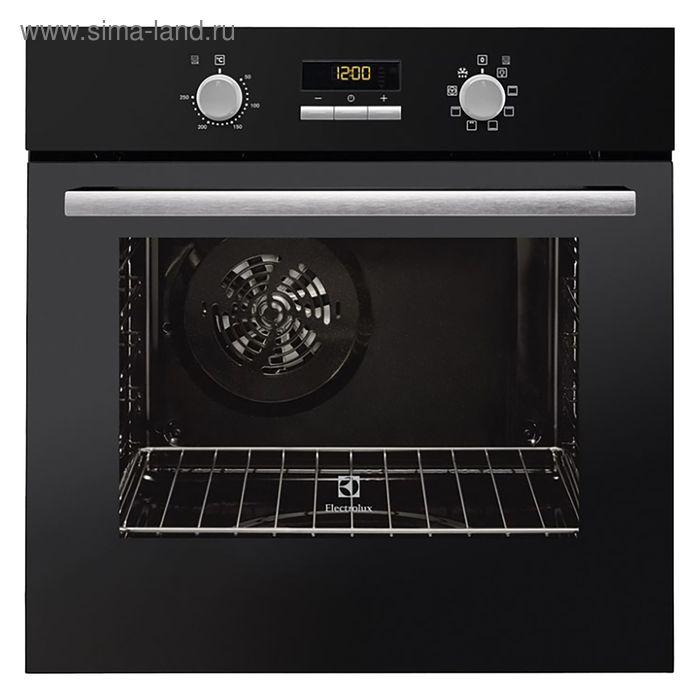 Духовой шкаф Electrolux EZB55420AK, электрический, 57 л, черный