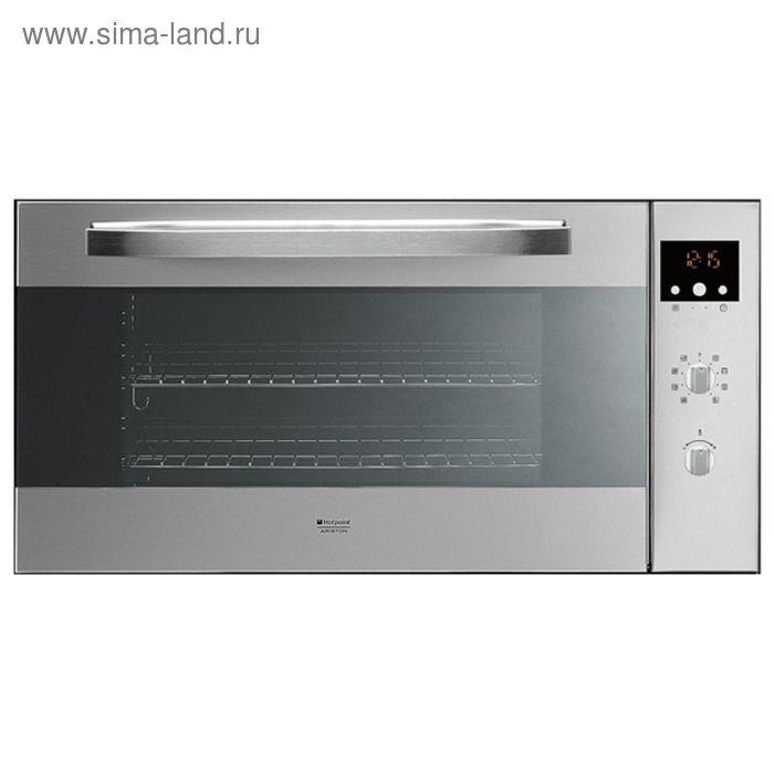 Духовой шкаф Hotpoint-Ariston MH 99.1 IX /HA S, электрический, 78 л, серебристый