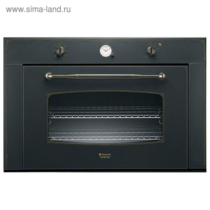 Духовой шкаф Hotpoint-Ariston MHR 940.1 (AN) /HA S, электрический, 68 л, черный
