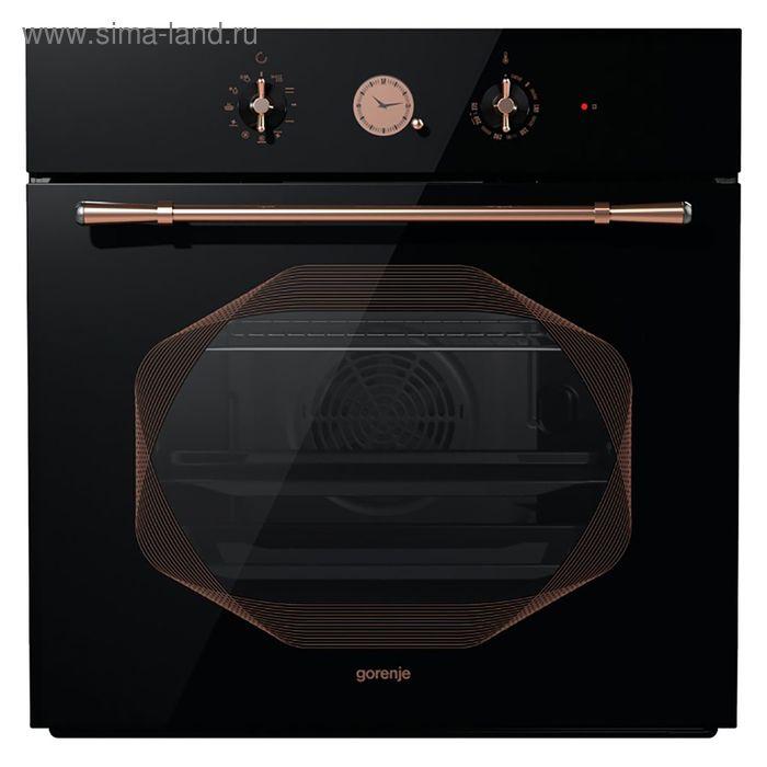 Духовой шкаф Gorenje Infinity BO627INB, электрический, 67 л, черный