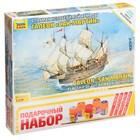 Сборная модель «Флагман Непобедимой армады «Сан-Мартин» - фото 106543413