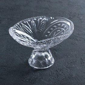 Crystal fruit vase 520 ml.