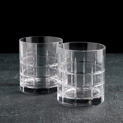 Набор стаканов для виски 220 мл, 2 шт