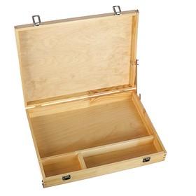 Этюдный ящик средний (А3), 450 х 330 мм, горизонтальный