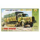 Сборная модель «Немецкий тяжелый полугусеничный грузовик L 4500R Маультир»