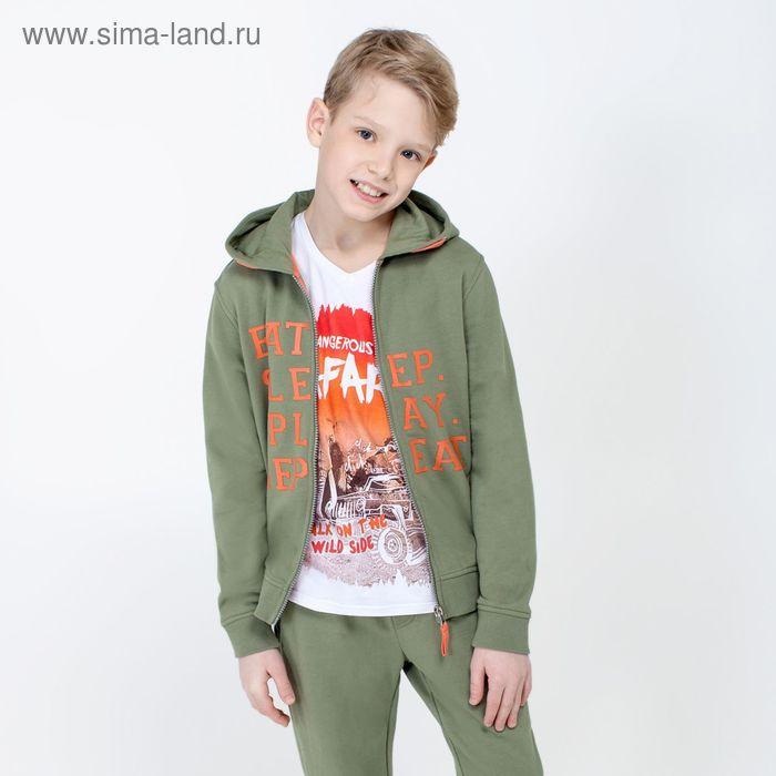 Жакет детский для мальчиков Forest, рост 164 см, цвет светло-зелёный (арт. 20110130026)