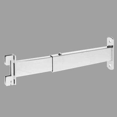 Крепёж к стене регулируемый, длина от 21 до 31,5 см, хром