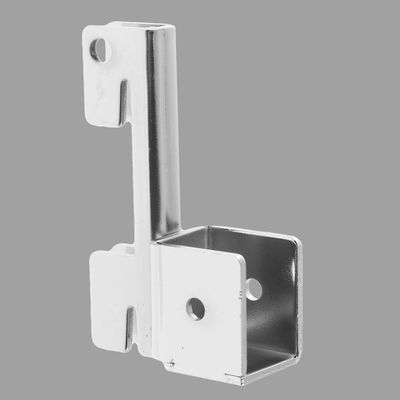 Mount for panel, with stop, chrome