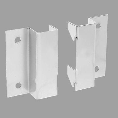 Mount for panels, pair, chrome