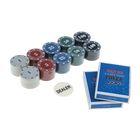 Покер, набор для игры (2 колоды карт, фишки 100 шт) УЦЕНКА