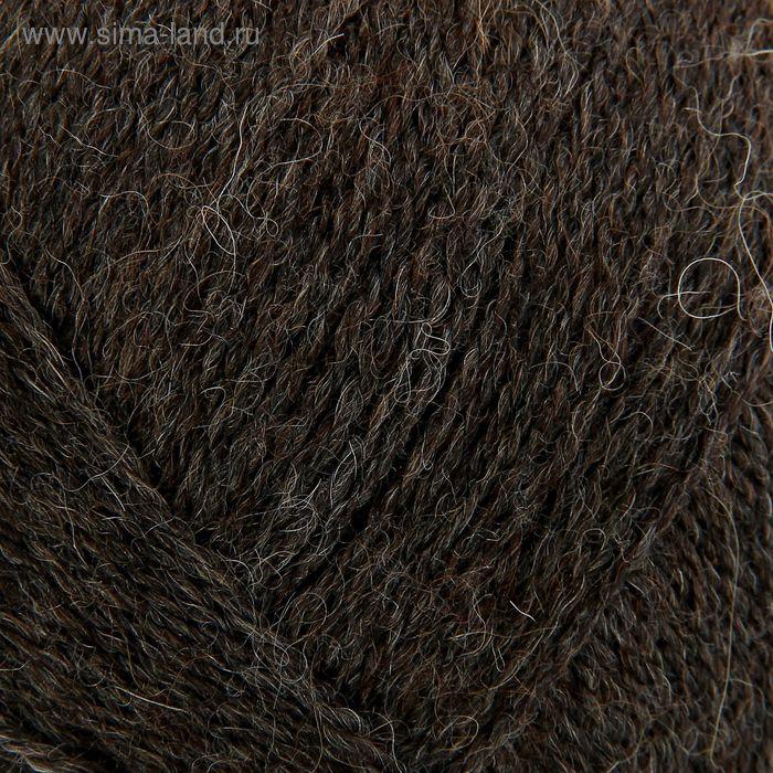 Пряжа Lada (Лада) 15% шерсть, 35% альпака, 50% акрил 380м/100гр (4606 м.т.корич.)