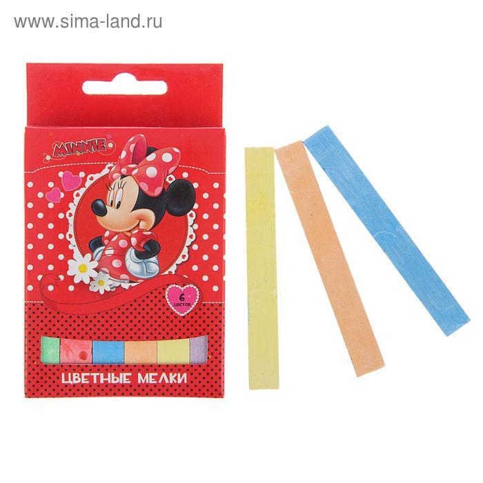 """Мелки 6 цветов Disney """"Минни"""""""