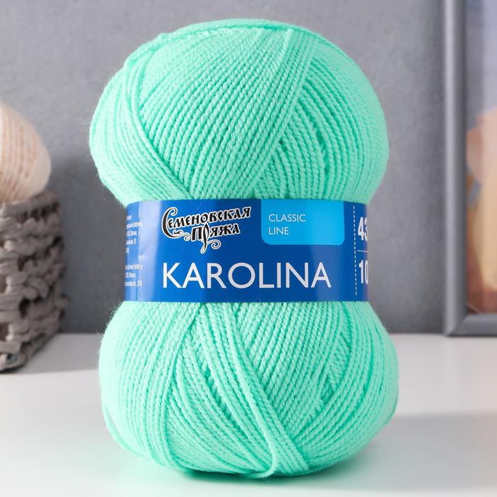 Пряжа Karolina (Каролина) 100% акрил 438м/100гр (899 весна)