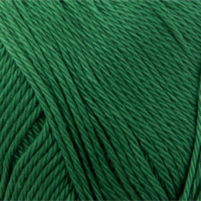 """Пряжа """"Bahar"""" 100% мерсеризованный хлопок 260м/100гр (118 зеленая трава)"""