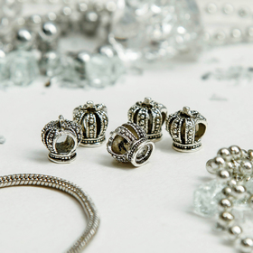 "Талисман ""Корона"", цвет серебро"