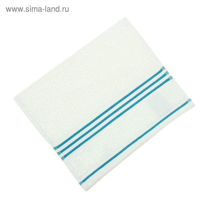 Полотенце махровое Rio-Uni weißgrundig, размер 30х50 см, 500 г/м, цвет белый