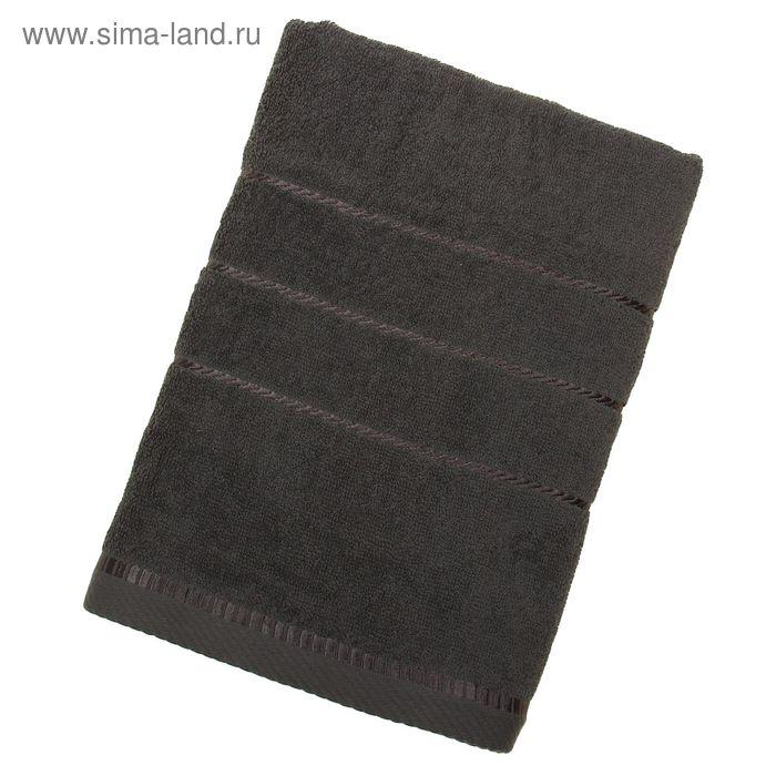 Полотенце махровое BERLIN Uni, размер 70х140 см, 470 г/м, цвет антрацит