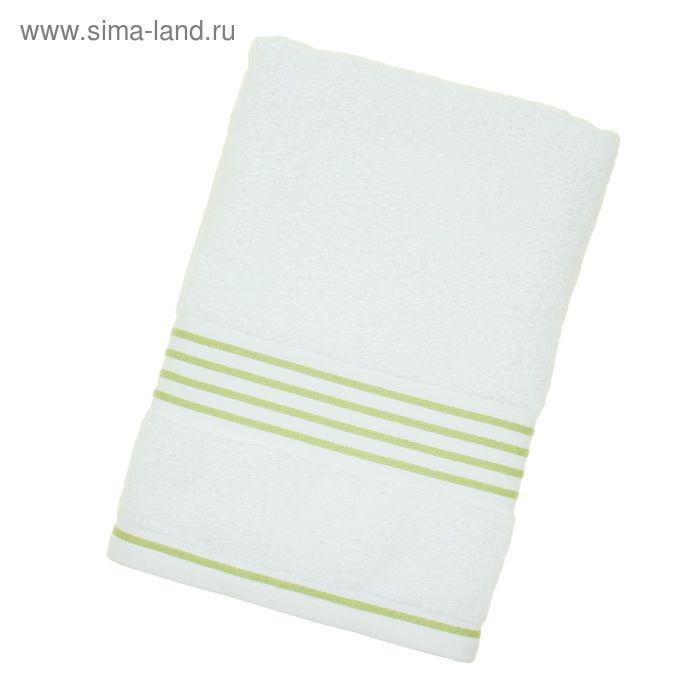 Полотенце махровое Rio-Uni weißgrundig, размер 70х140 см, 500 г/м, цвет белый