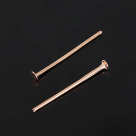 """Штифт """"Гвоздик"""" СМ-1097, 2 см, упаковка 100 гр, цвет золото"""