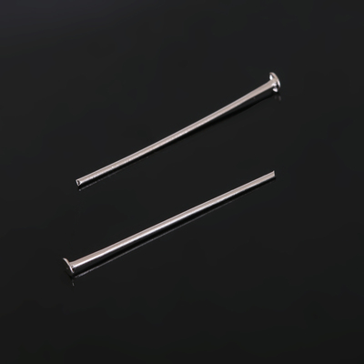 "Штифт ""Гвоздик"" СМ-102, 3 см, упаковка 100 гр, цвет серебро"
