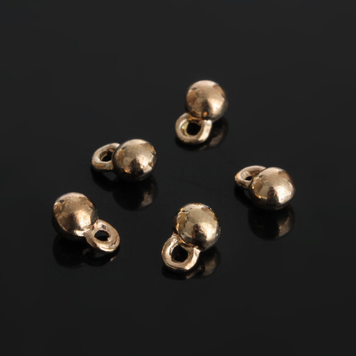 Концевик для цепочки, цвет золото, 4*6 мм (набор 30шт)