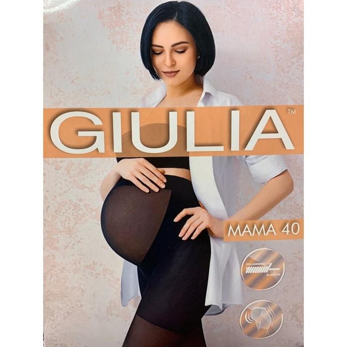 Колготки для беременных GIULIA MAMA 40 den, цвет загар (daino gul), размер 3