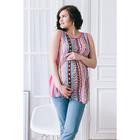 Блузка для беременных 2249, цвет розовый, размер 46, рост 170