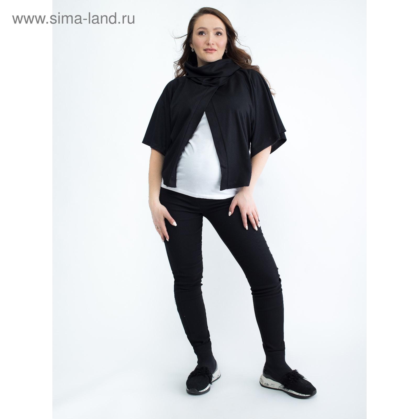 7cecd0d4293c Блузка для беременных 2206, цвет черный, размер 50, рост 170 ...