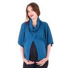 Блузка для беременных 2206, цвет индиго, размер 50, рост 170