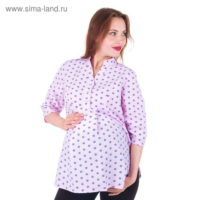 Рубашка женская 15117, размер 44, рост 170, цвет розовый