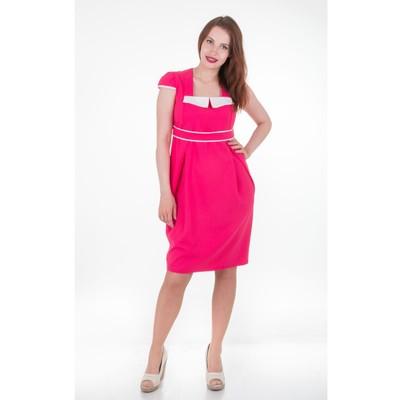 Платье женское 1560, цвет малина, размер 50, рост 170