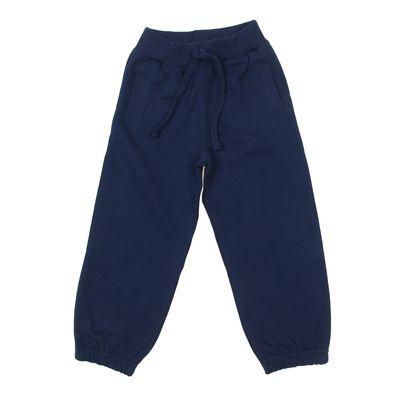 Брюки для девочки, рост 116 см, цвет тёмно-синий