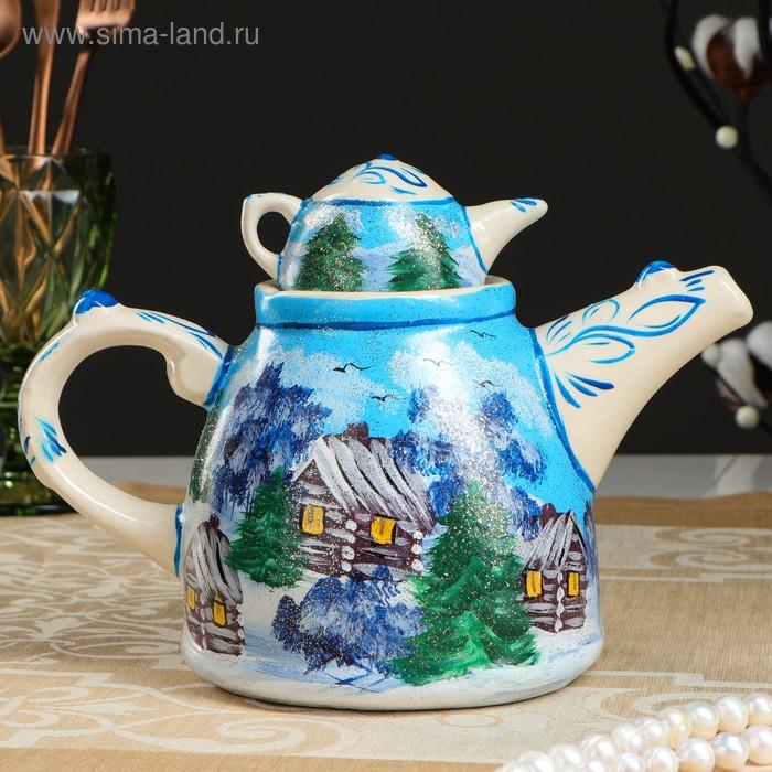 """Чайник """"Зима"""" 1 л"""