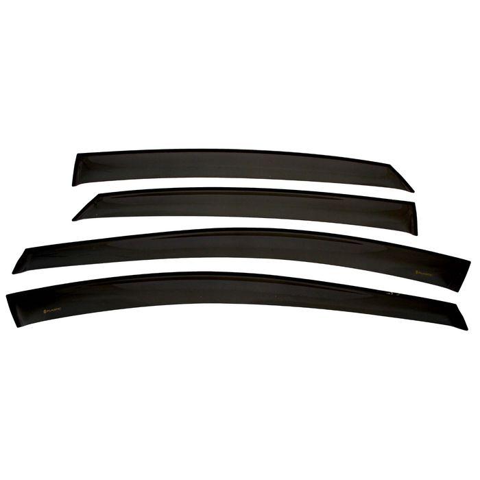 Ветровики дверей Hyundai i40 седан, Classic, полупрозрачные