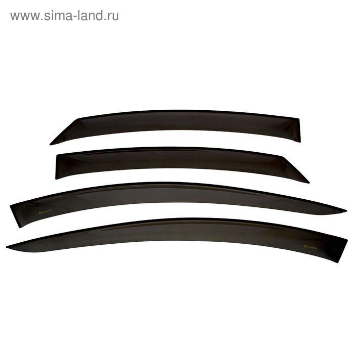 Ветровики дверей ВАЗ Lada Vesta, Classic, полупрозрачные