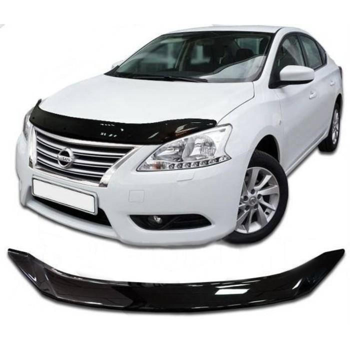 Дефлектор капота Nissan Sentra, Classic, черный