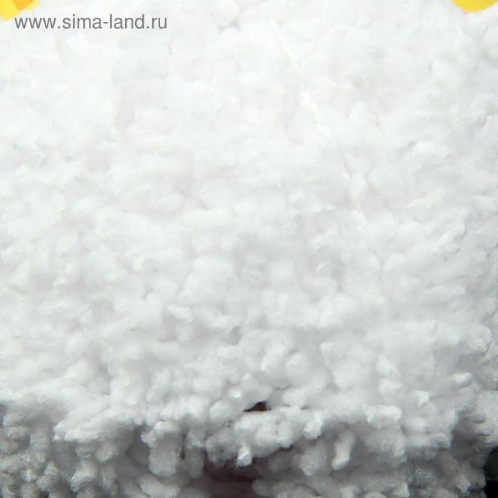 "Пряжа ""Кроха"" 100% микрополиэстер 75м/50гр (6007 белый)"