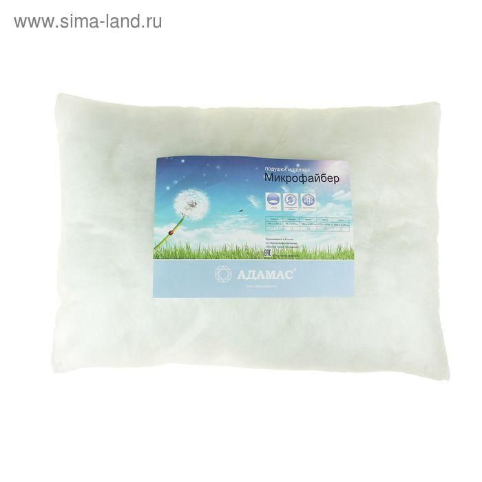 Подушка Адамас синтетическая 50х70 см, микрофайбер чехол спанбонд