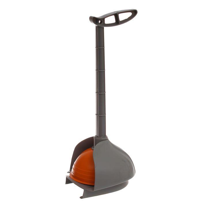"""Вантуз с подставкой """"Мега"""", цвет оранжевый"""