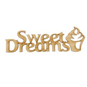 "Деревянная заготовка ""Sweet Dreams"""