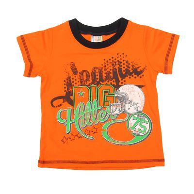 Футболка для мальчика, рост 98 см (56), цвет оранжевый (арт. 22000417)