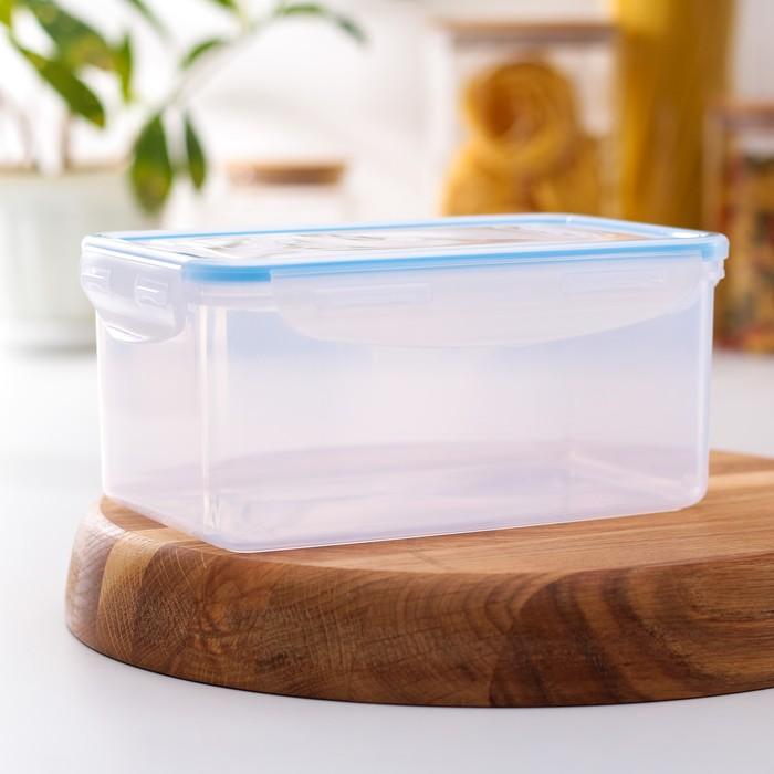 Контейнер пищевой 1,5 л с герметичной крышкой